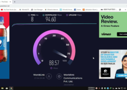 What is your Internet Speed ?